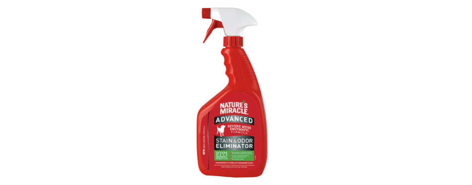 nature's miracle advanced pet stain remover