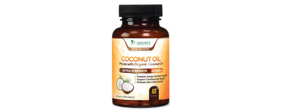 natures nutrition coconut oil