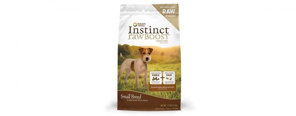 nature's variety small breed dry dog food