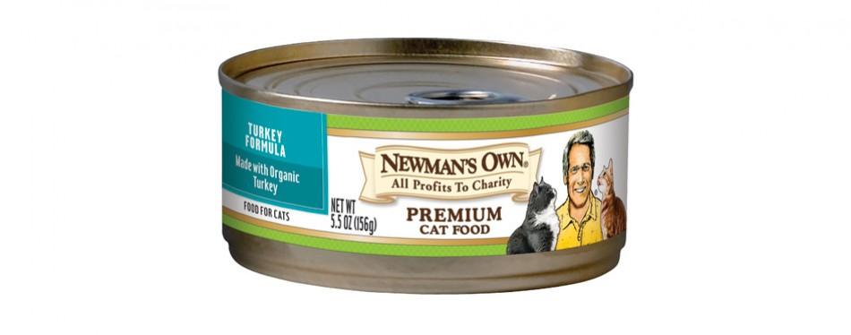 newman's own premium wet cat food