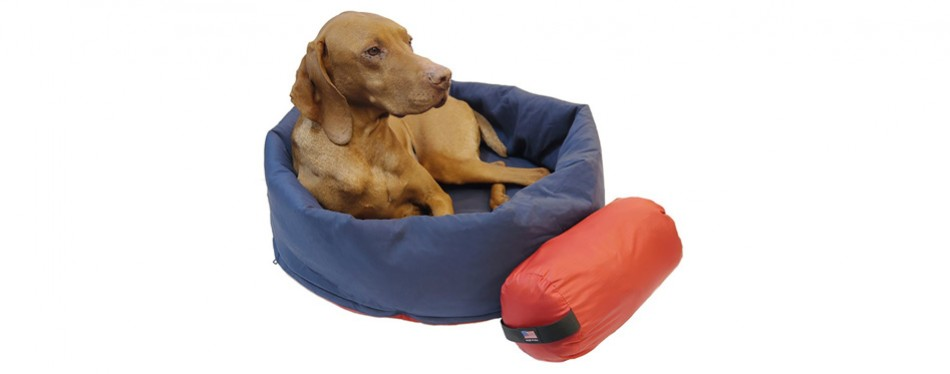 noblecamper 2-in-1 dog bed and sleeping bag