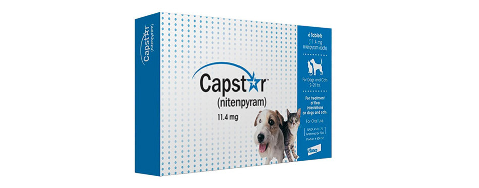 novartis capstar flea tablets for cats