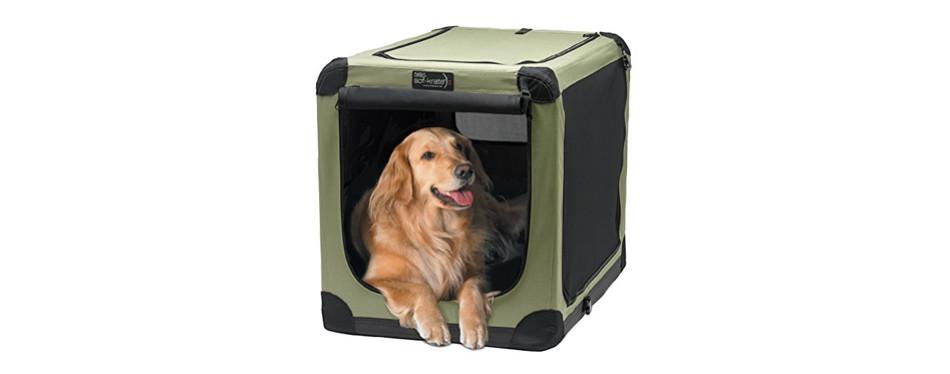 noz2noz soft-krater indoor and outdoor dog crate