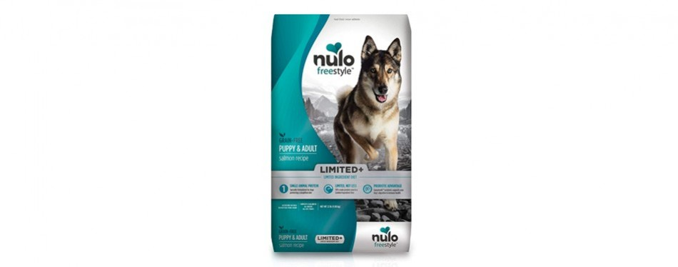 nulo freestyle limited grain free puppy & adult dog food