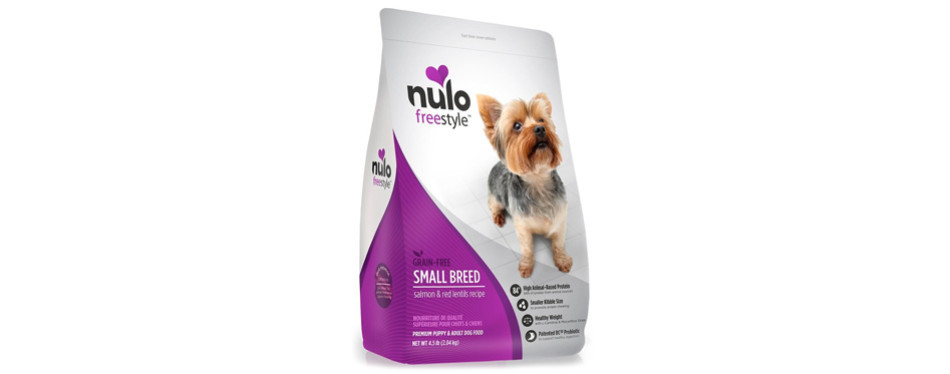 nulo small breed grain-free dry dog food