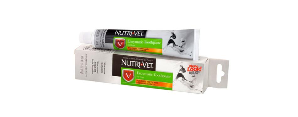 nutri-vet enzymatic chicken flavored dog toothpaste