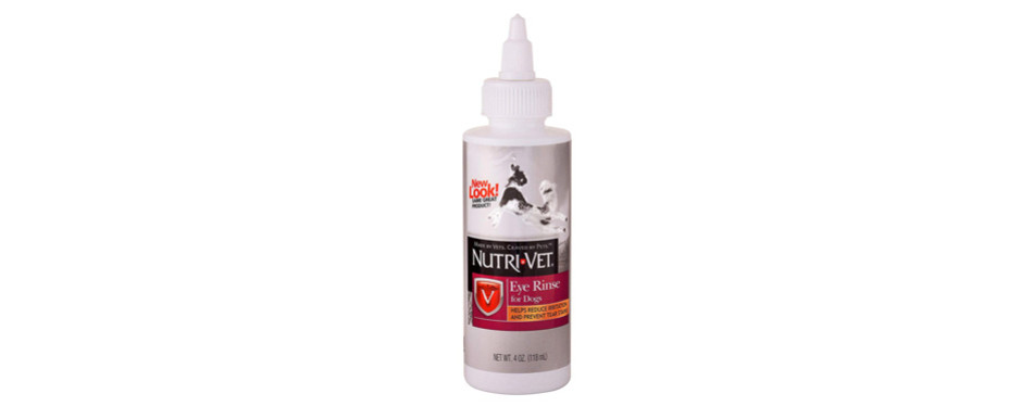 nutri-vet eye rinse tear stain remover dogs