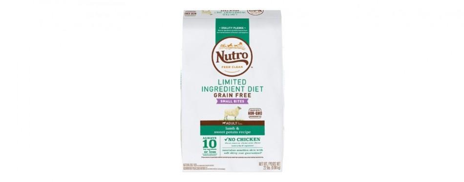nutro limited ingredient diet grain-free
