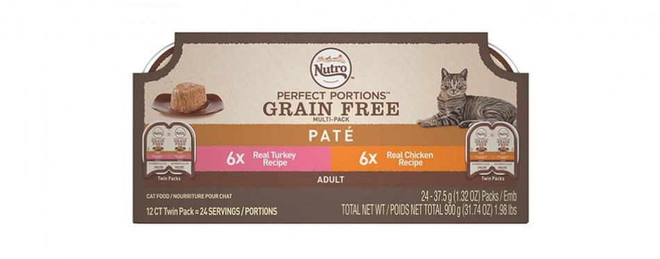 nutro perfect portions wet cat food