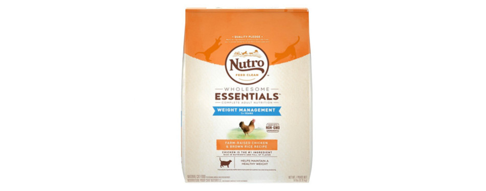 nutro weight management cat food