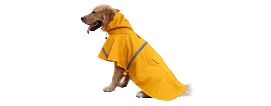 okdeals dog raincoat