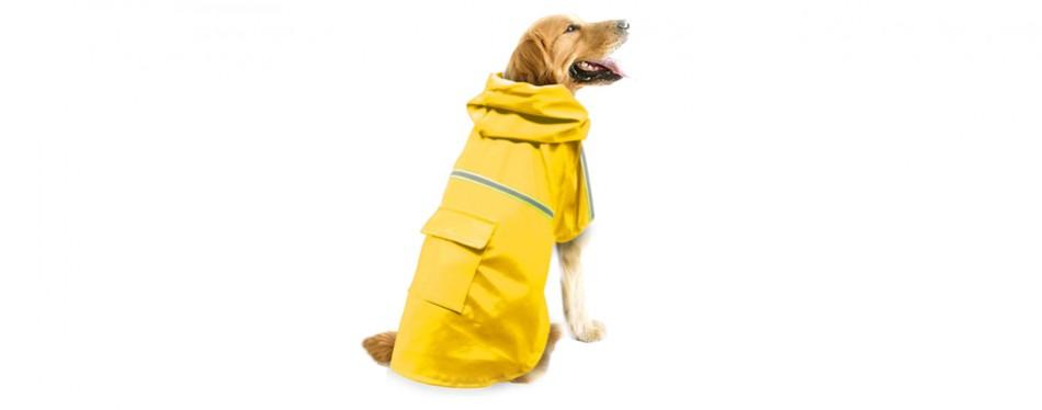 okdeals yellow dog raincoat