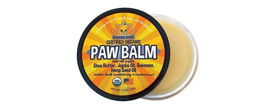 organic paw balm for dogs & cats