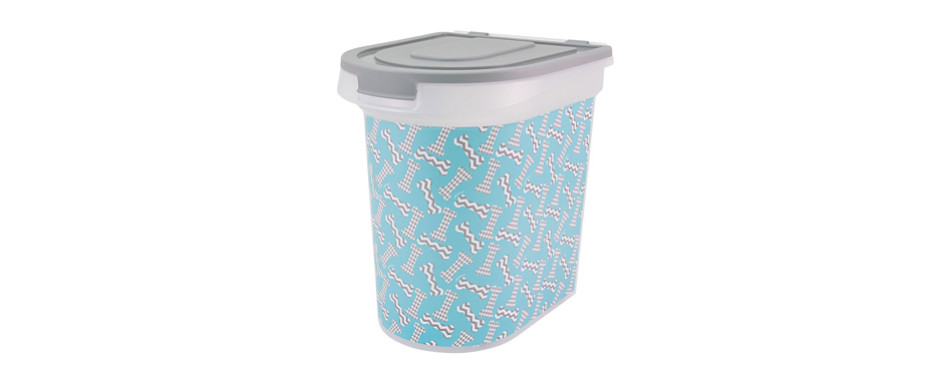paw prints food container