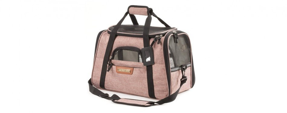 pawfect pets airline approved soft-sided cat carrier