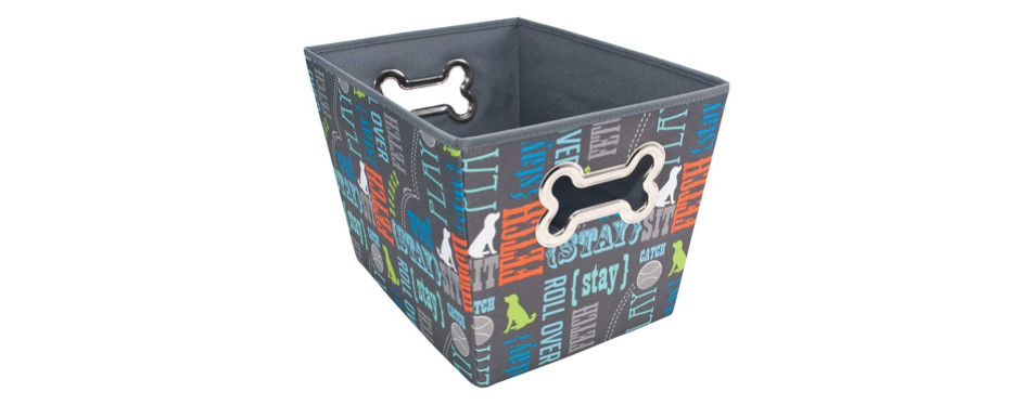pawprint pet toy box