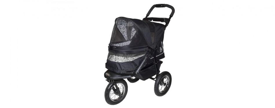 pet gear no-zip nv pet dog stroller