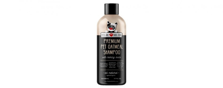 pet oatmeal anti-itch cat shampoo and conditioner