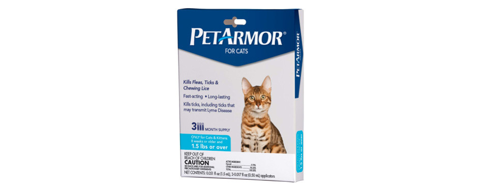 petarmor fleatreatment for cats