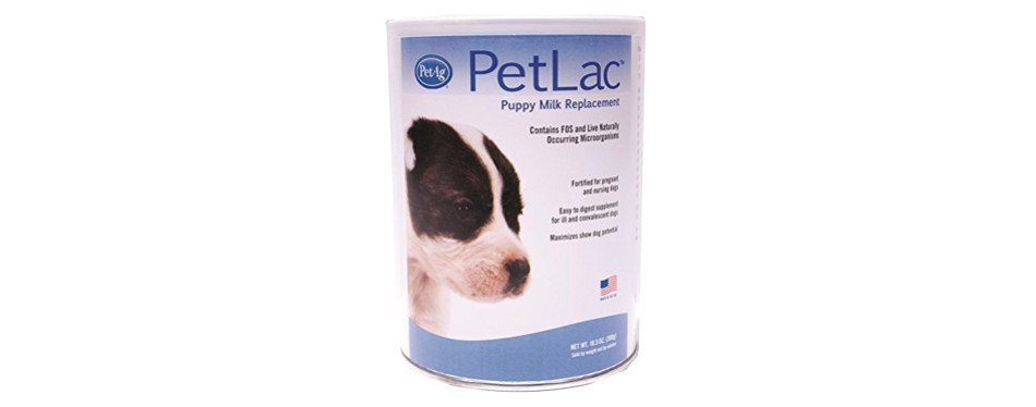 petlac puppy milk replacer