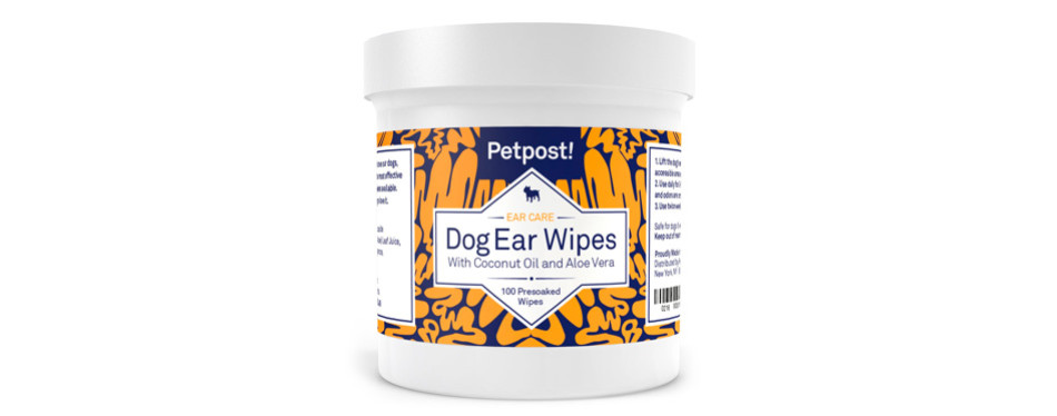 petpost dog ear cleaner wipes