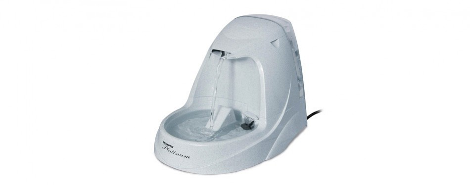 petsafe drinkwell platinum cat and dog water fountain