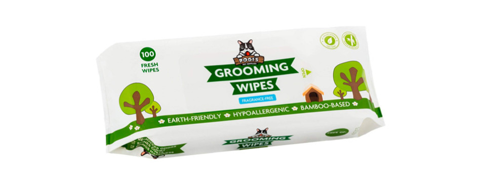 pogi's grooming dog wipes