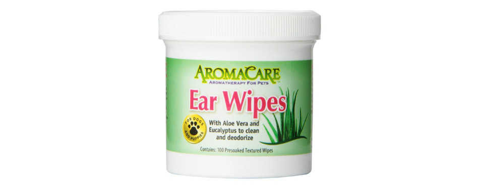 ppp pet aroma care dog ear cleaner wipes