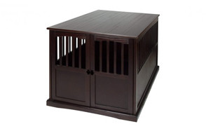 premium pick dog crate end table