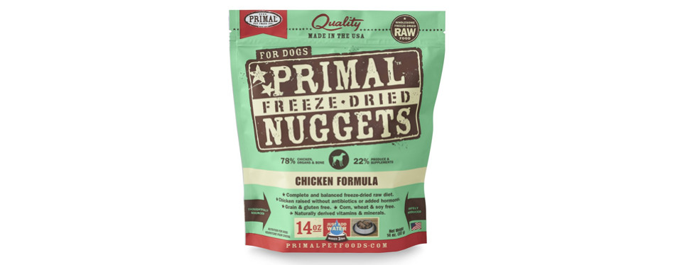 primal dehydrated dog food