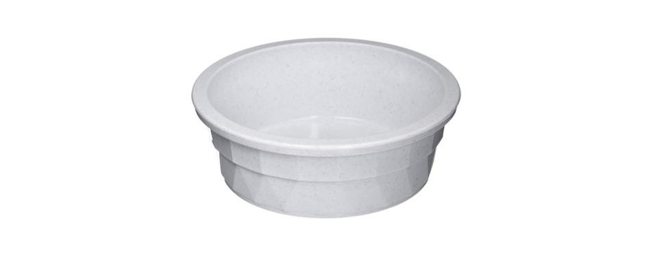 pureness heavyweight large crock dog bowl