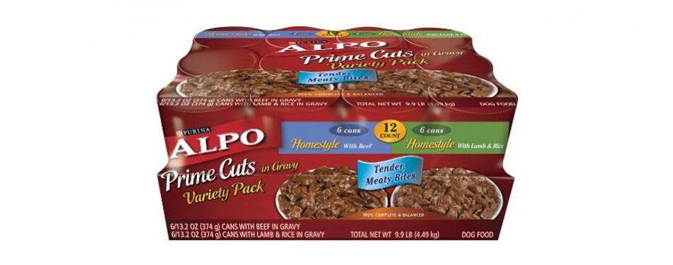 purina alpo prime cuts in gravy