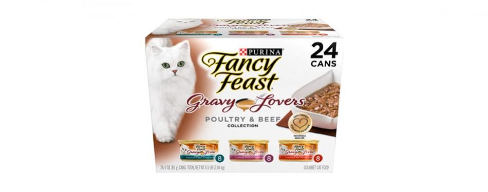 purina fancy feast gravy lovers wet cat food