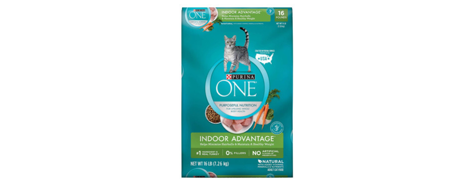 purina one cat dry food