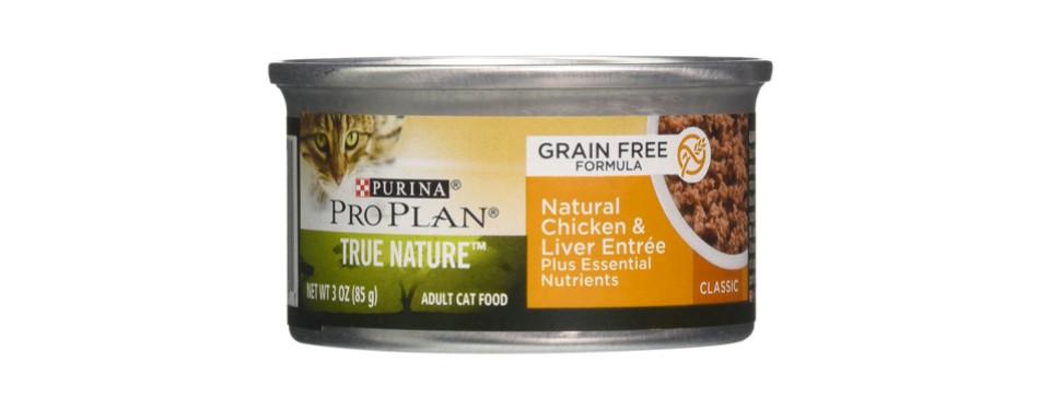 purina pro plan true nature grain free cat food