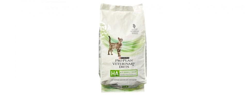 purina veterinary diets hypoallergenic cat food