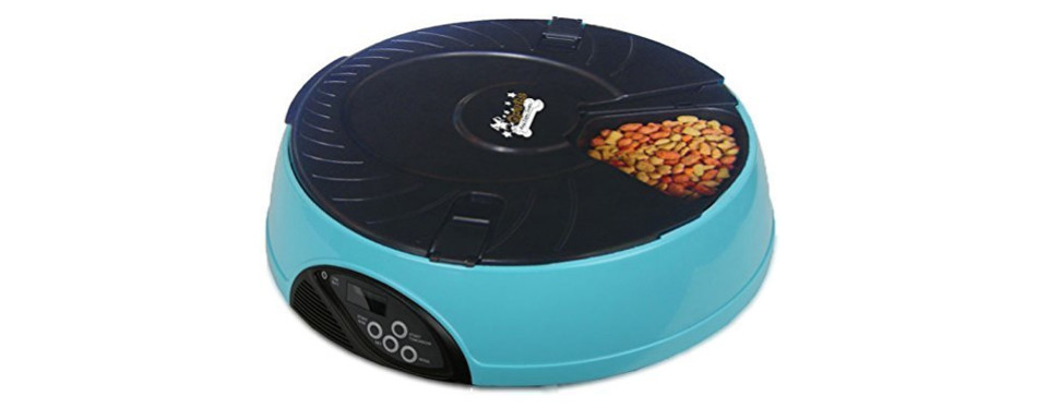 qpets automatic cat feeder