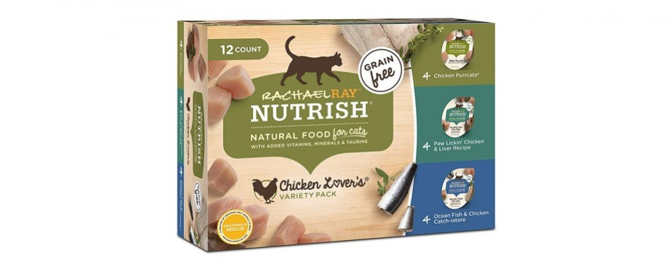rachel ray nutrish wet cat food
