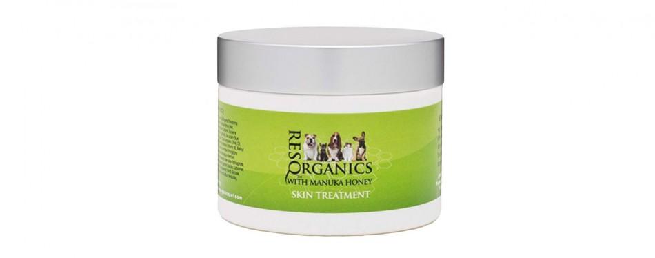 resq organics pet skin treatment