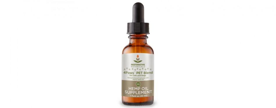 restorative botanicals organic hemp cbd oil