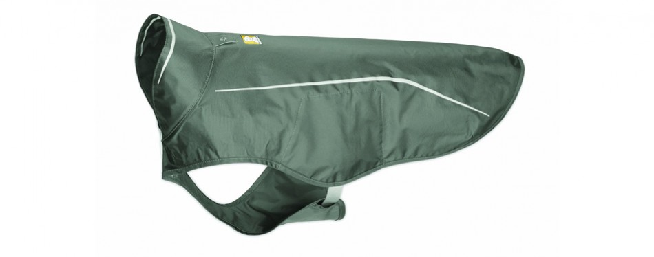 ruffwear dog raincoat