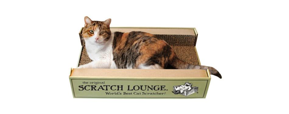 scratch lounge the original worlds scratching post