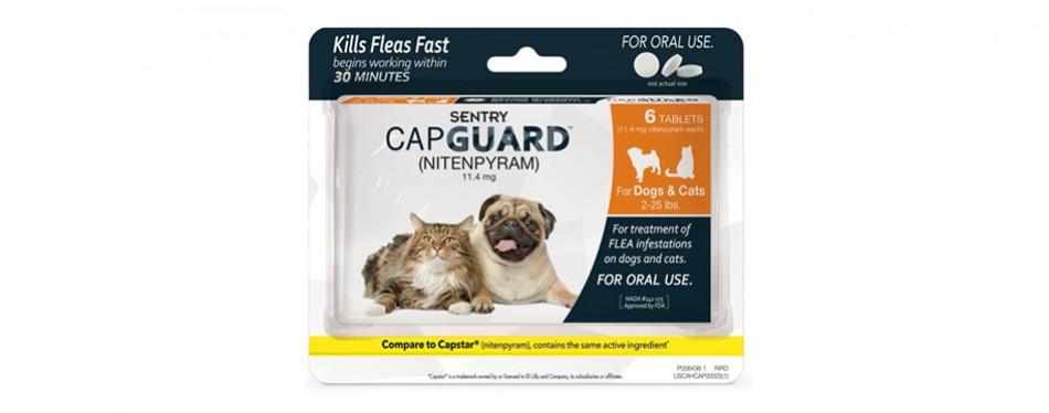 sentry capguard oral flea control medication