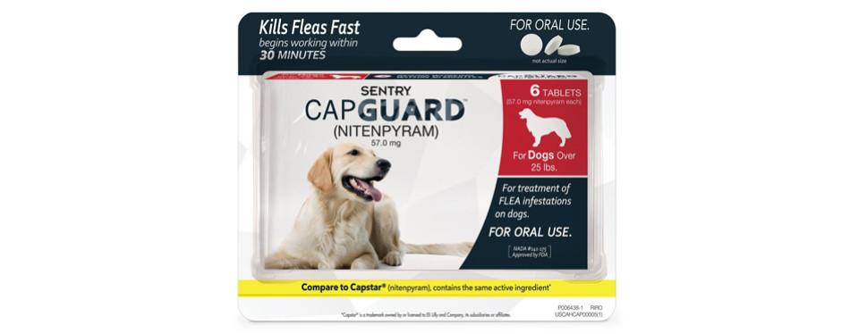 sentry dog flea treatment