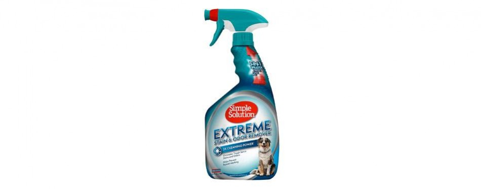 simple solution extreme pet stain remover