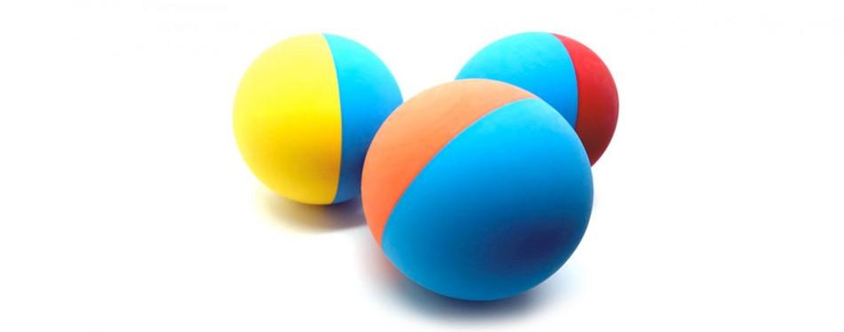 snug rubber dog ball