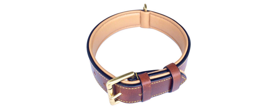 sof touch leather collar