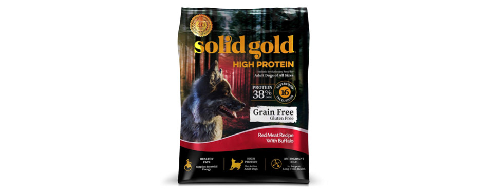 solid gold high protein dog food