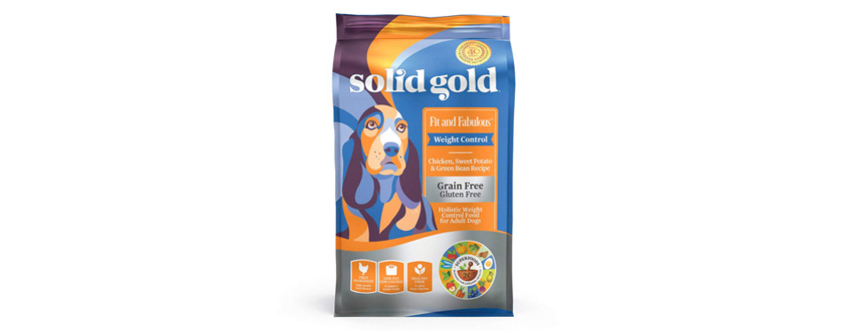 solid gold holistic weight loss dog food