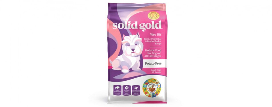 solid gold wee bit holistic dry dog food